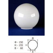 Плафон Шар 40-150-60 опал