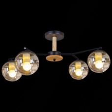 Светильник потолочный 05071-0.3-04B MBK+YLWD